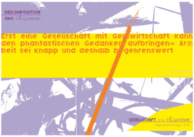 Gesellschaft ohne Eigentum 01 (© Ulli Reiter)