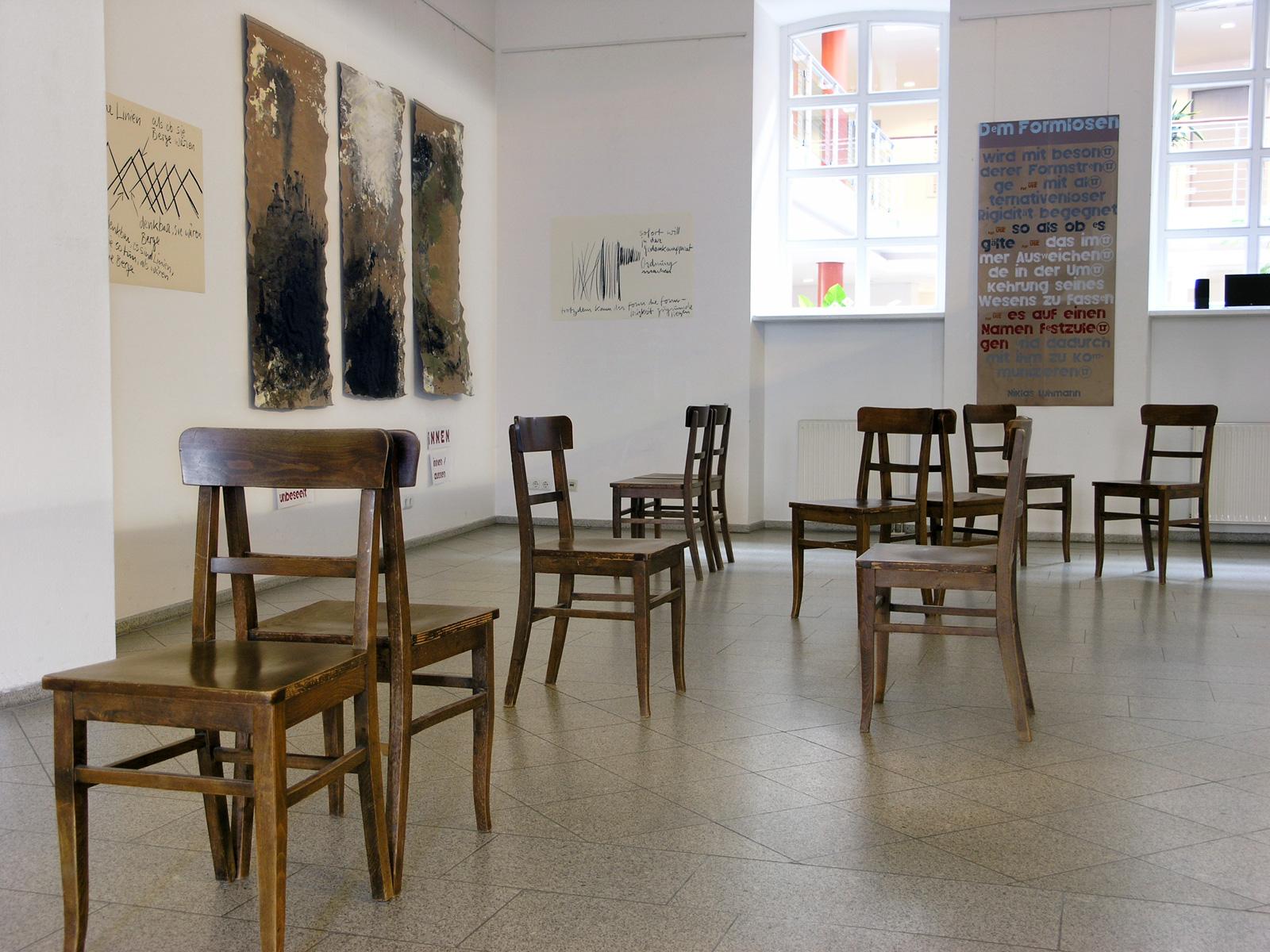 Im Dialog 2019 |  Uli Reiter mit Michael Feuchtmeir | Kunstverein Traunstein