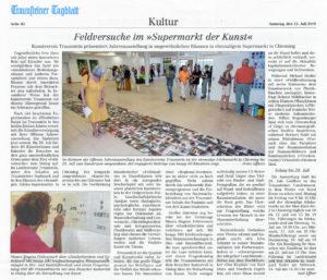 Feldversuche Artikel im Traunsteiner Tagblatt 2019_07_13 | (© OVB und Axel Effner)
