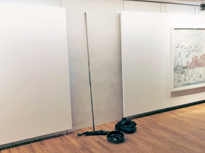 umputzen 02 | 2020 | Kulissenwechsel | Städtische Galerie Traunstein | © Uli Reiter