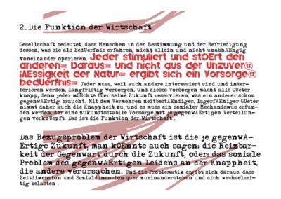 Manifest - Ökonomie ohne Eigentum (© Ulli Reiter)