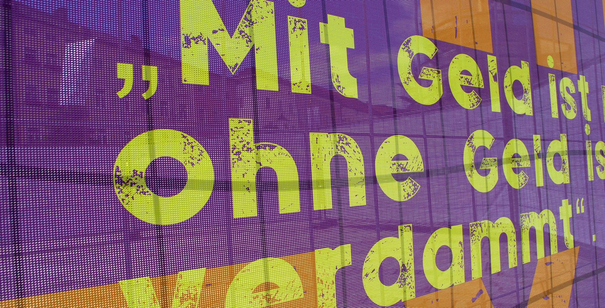 Weg mit der Kohle - Ökonomie ohne Eigentum (© Ulli Reiter)